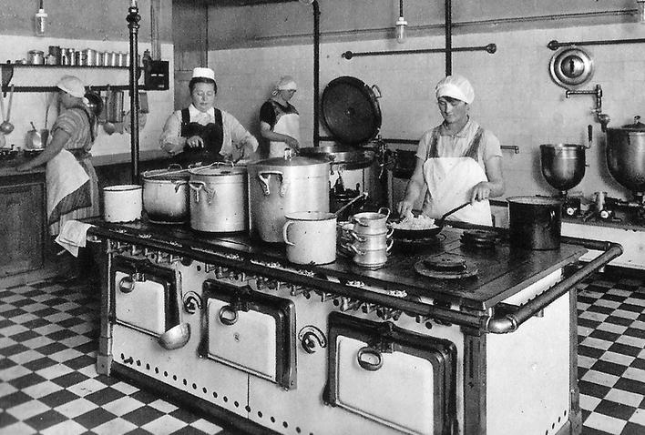 Gute alte Küchenschule